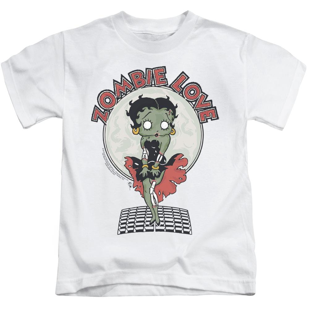 Betty Boop - Breezy Zombie Love Kids T-Shirt