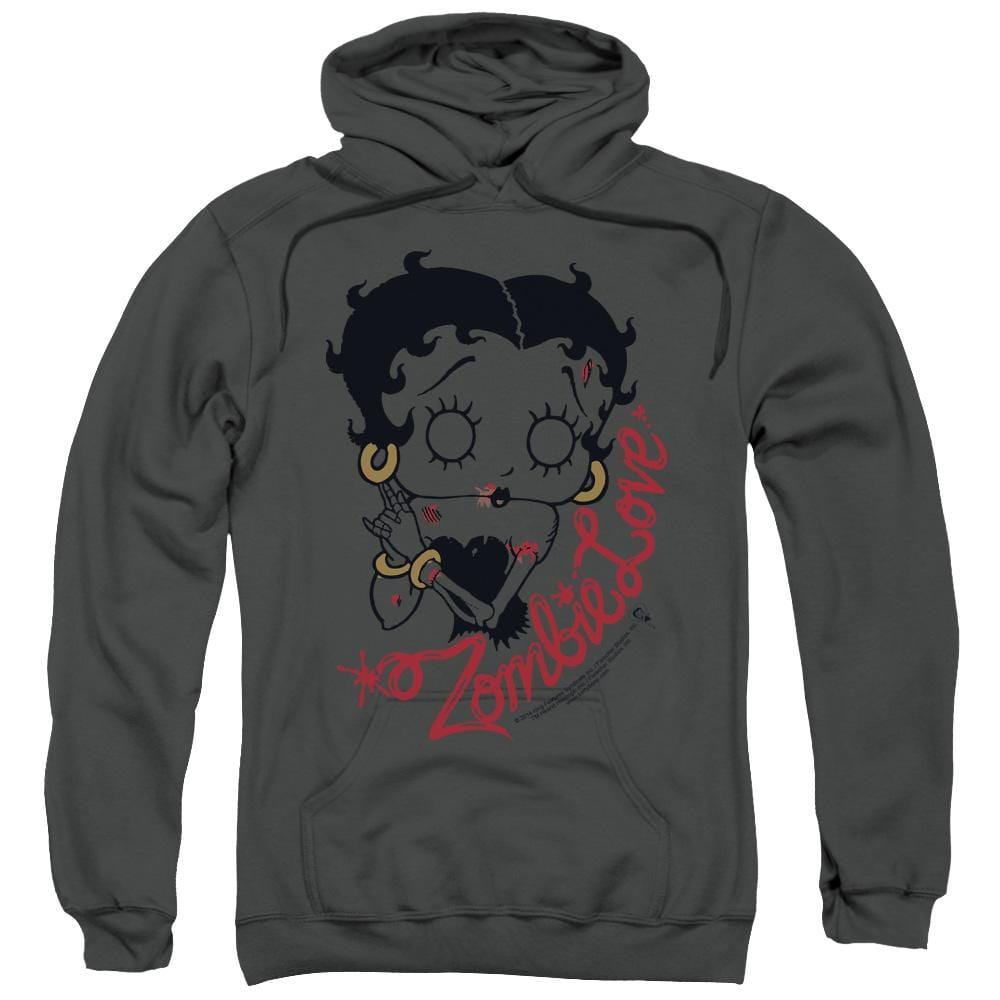 Betty Boop - Classic Zombie Adult Pull-Over Hoodie