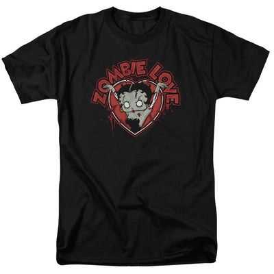 Betty Boop Heart You Forever Men's Regular Fit T-Shirt