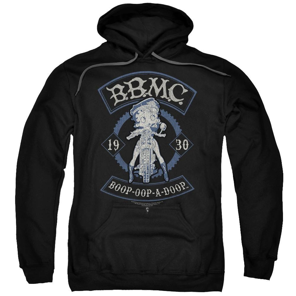 Betty Boop - B.b.m.c. Adult Pull-Over Hoodie
