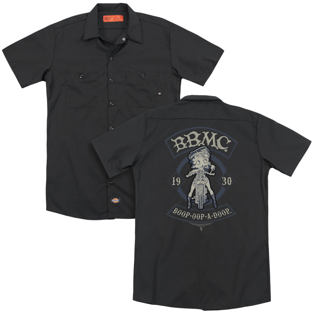 Betty Boop - B.b.m.c. Adult Work Shirt