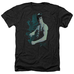 Bruce Lee - Feel Adult Regular Fit Heather T-Shirt