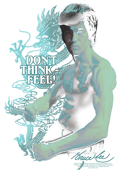 Bruce Lee Feel Juniors T-Shirt