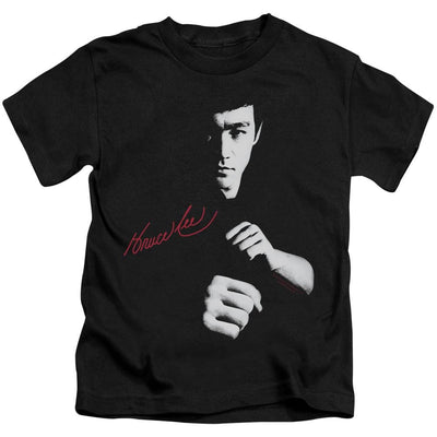 Bruce Lee The Dragon Awaits Kid's T-Shirt (Ages 4-7)