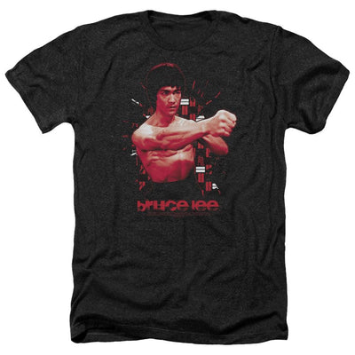 Bruce Lee The Shattering Fist Men's Heather T-Shirt