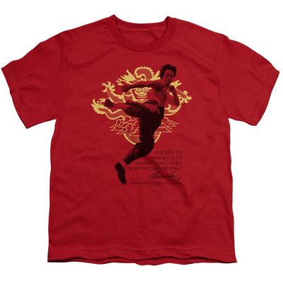 Bruce Lee Immortal Dragon Youth T-Shirt (Ages 8-12)