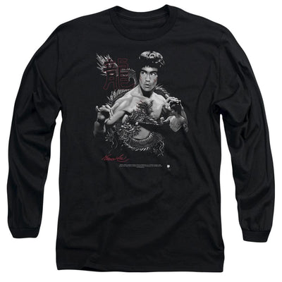 Bruce Lee The Dragon Men's Long Sleeve T-Shirt