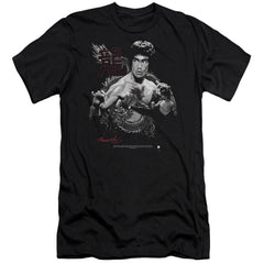 Bruce Lee The Dragon Premium Adult Slim Fit T-Shirt