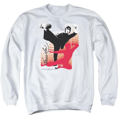 Bruce Lee Kick It Men's Crewneck Sweatshirt