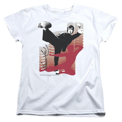 Bruce Lee Kick It Women's T-Shirt