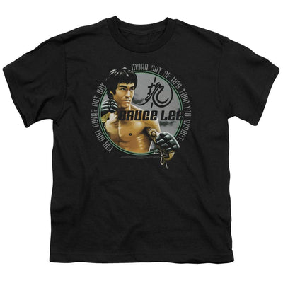 Bruce Lee Expectations Youth T-Shirt (Ages 8-12)