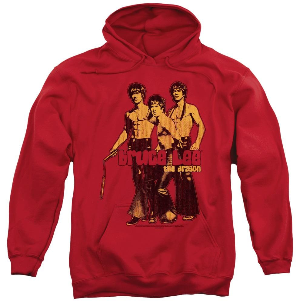 Bruce Lee - Nunchucks Adult Pull-Over Hoodie