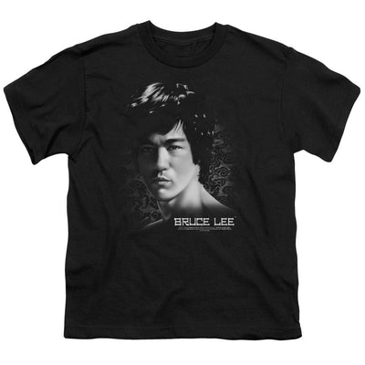 Bruce Lee In Your Face Youth T-Shirt (Ages 8-12)
