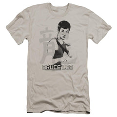 Bruce Lee Punch Premium Adult Slim Fit T-Shirt