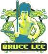 Bruce Lee Double Dragons Kid's T-Shirt (Ages 4-7)