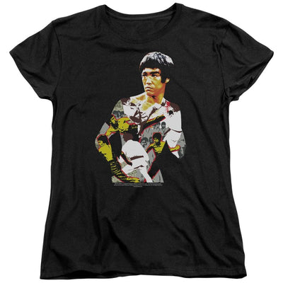 Bruce Lee Body Of Action Women's T-Shirt