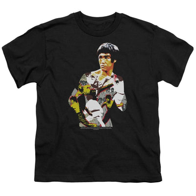 Bruce Lee Body Of Action Youth T-Shirt (Ages 8-12)