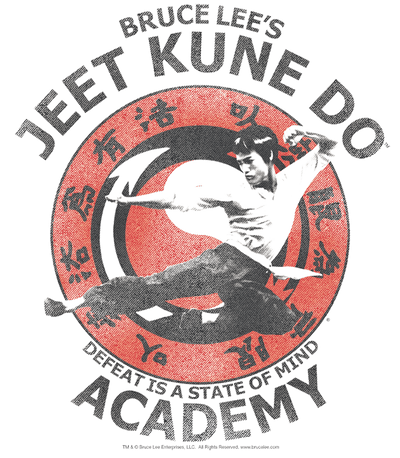 Bruce Lee Jeet Kune Juniors V-Neck T-Shirt