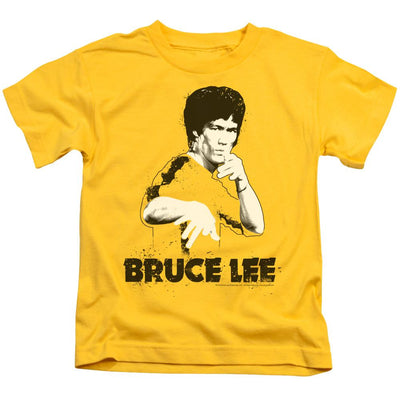 Bruce Lee Suit Splatter Kid's T-Shirt (Ages 4-7)