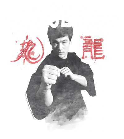 Bruce Lee Ready Youth T-Shirt (Ages 8-12)