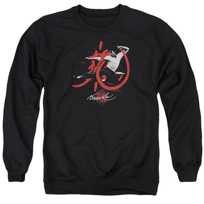 Bruce Lee High Flying Men's Crewneck Sweatshirt
