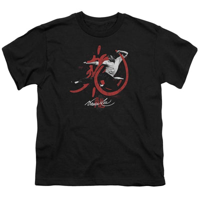 Bruce Lee High Flying Youth T-Shirt (Ages 8-12)