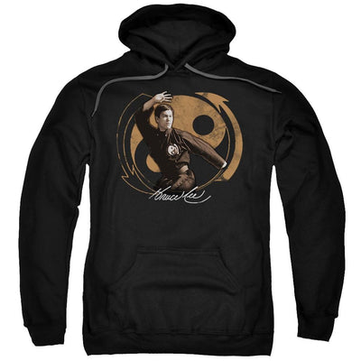 Bruce Lee Jeet Kun Do Pose Pullover Hoodie