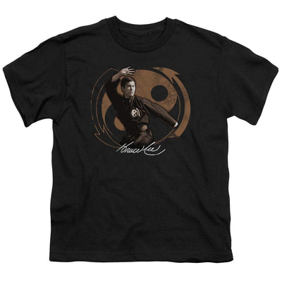 Bruce Lee Jeet Kun Do Pose Youth T-Shirt (Ages 8-12)
