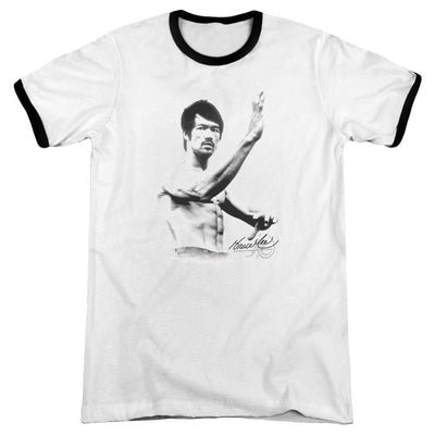 Bruce Lee Serenity Men's Ringer T-Shirt