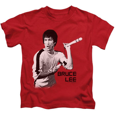 Bruce Lee Nunchucks Kid's T-Shirt (Ages 4-7)