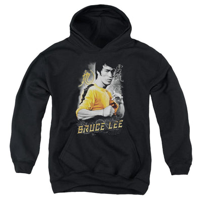 Bruce Lee Yellow Dragon Youth Hoodie (Ages 8-12)