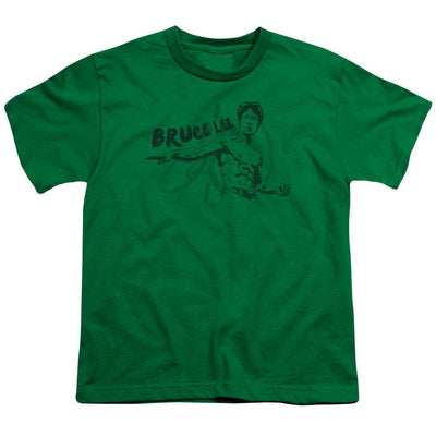 Bruce Lee Brush Lee Youth T-Shirt (Ages 8-12)