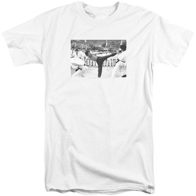 Bruce Lee Kick To The Head Men's Tall Fit T-Shirt