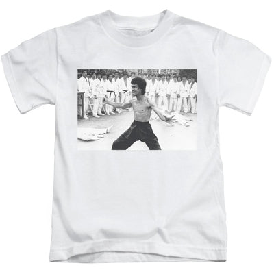 Bruce Lee Triumphant Kid's T-Shirt (Ages 4-7)