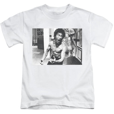Bruce Lee Full Of Fury Kid's T-Shirt (Ages 4-7)