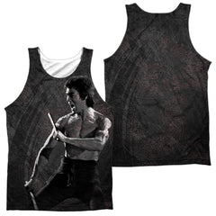 Bruce Lee Dragon Print Adult Tank Top