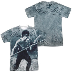 Bruce Lee - Whoooaa Adult All Over Print 100% Poly T-Shirt