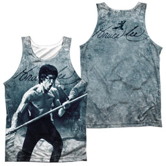 Bruce Lee Whoooaa Adult Tank Top
