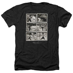 Bruce Lee - Snap Shots Adult Regular Fit Heather T-Shirt
