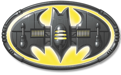 Batman Bat Mech Logo Men's Regular Fit T-Shirt