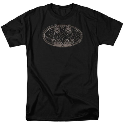 Batman Bio Mech Bat Shield Men's Regular Fit T-Shirt