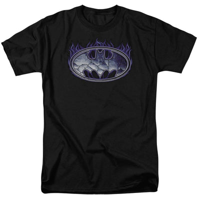 Batman Cracked Shield Men's Regular Fit T-Shirt