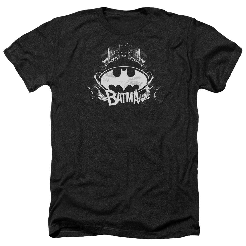Batman - Grim & Gritty Adult Regular Fit Heather T-Shirt
