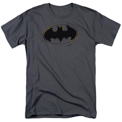Batman Spray Paint Logo Men's Regular Fit T-Shirt