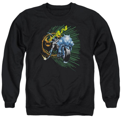 Batman Batcycle Men's Crewneck Sweatshirt