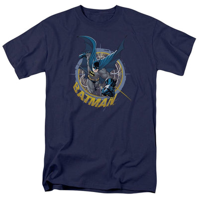 Batman In The Crosshairs Men's Regular Fit T-Shirt