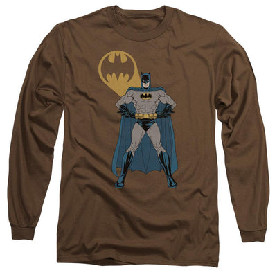 Batman Arms Akimbo Bats Men's Long Sleeve T-Shirt