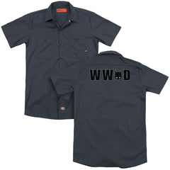 Batman - Wwbd Mask Adult Work Shirt