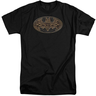 Batman Aztec Bat Logo Men's Tall Fit T-Shirt