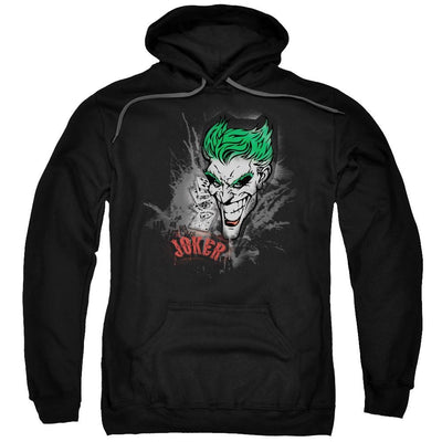 Batman Joker Sprays The City Pullover Hoodie